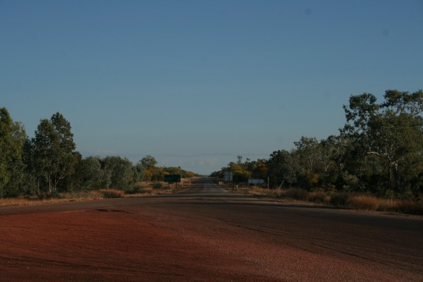 Australia's straight road