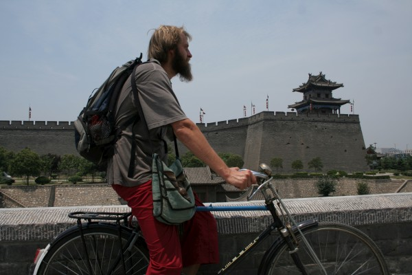 cruising around Xi'an