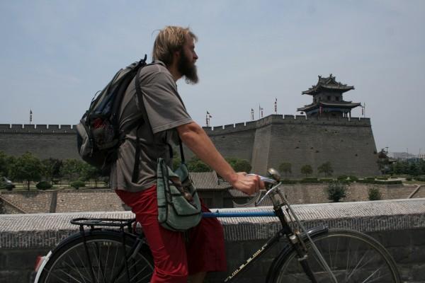 cruising around Xi'an