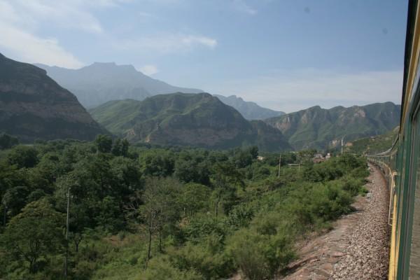 going through Northern China
